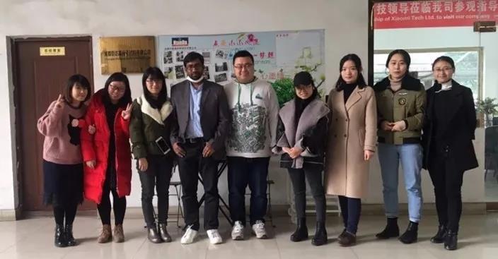 customer visit from Bangladesh