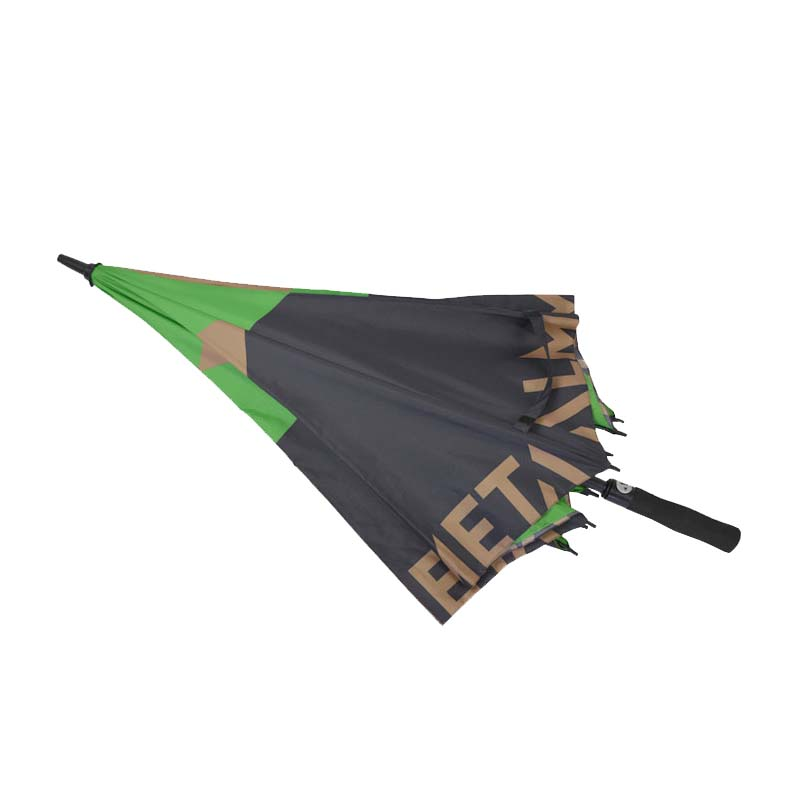 Hot sale high quality windproof double layer auto open golf umbrella