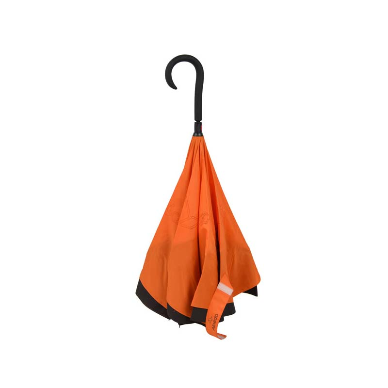 Customized upside-down car reversed umbrella with C handle