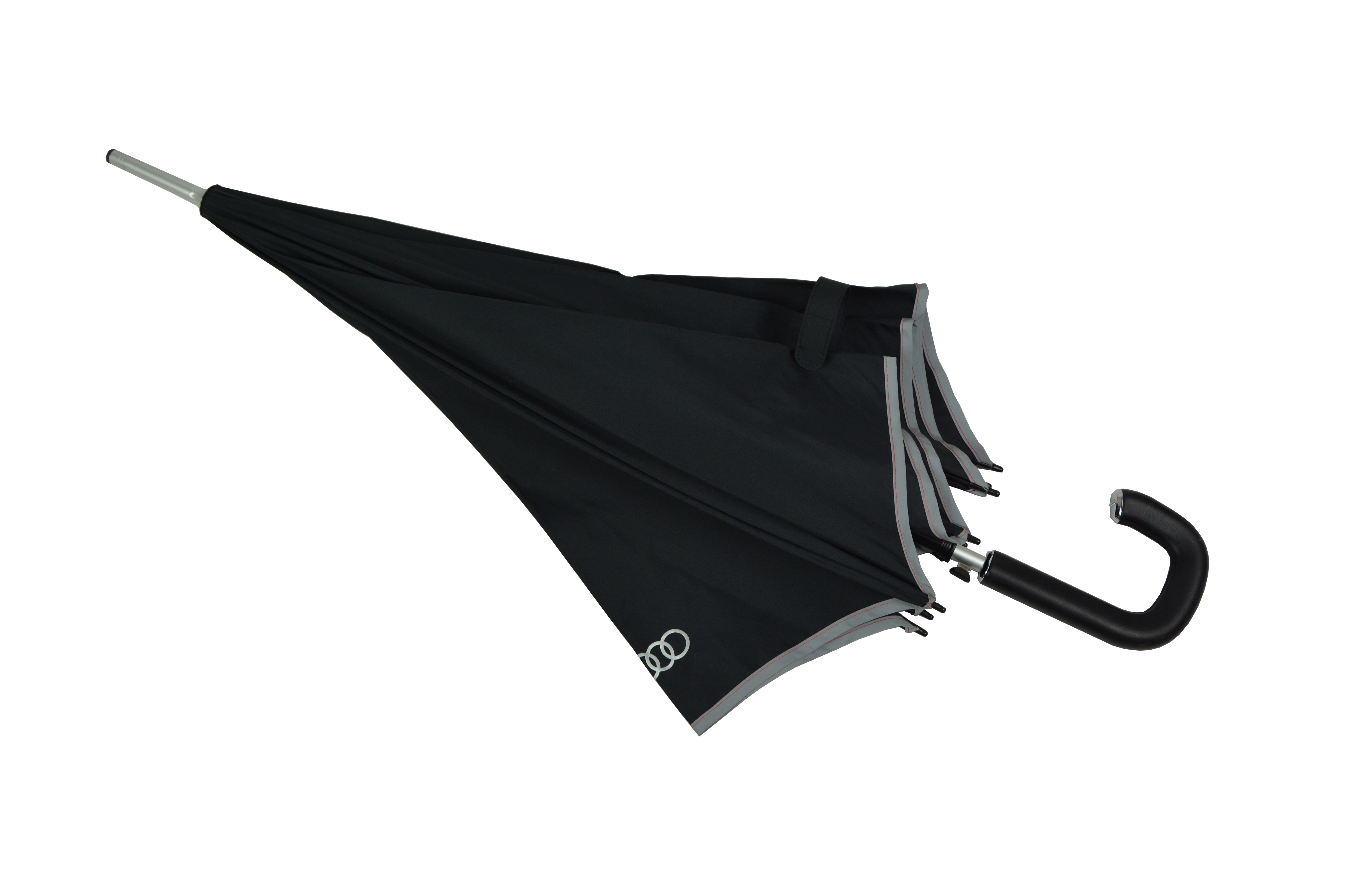 exclusive 27 inch straight golf umbrella with special PU leather