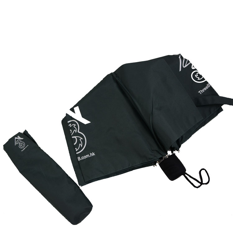 High quality supper light promotional 3 fold umbrella