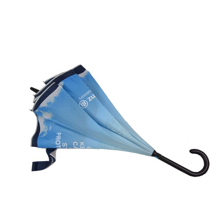 High quality waterproof  inverted upside down reversed umbrella