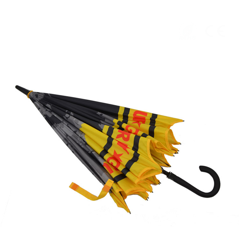 New customized high quality seamless straight umbrella