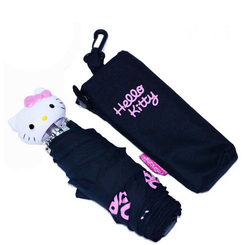 19 inch 5 fold hello kitty umbrella