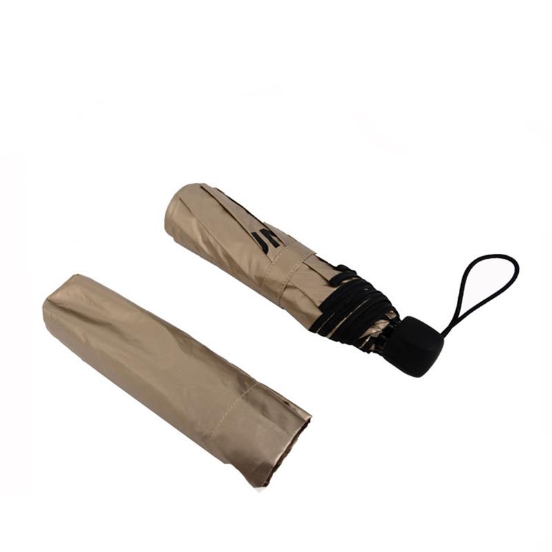 customized promotional 3 fold travel umbrella