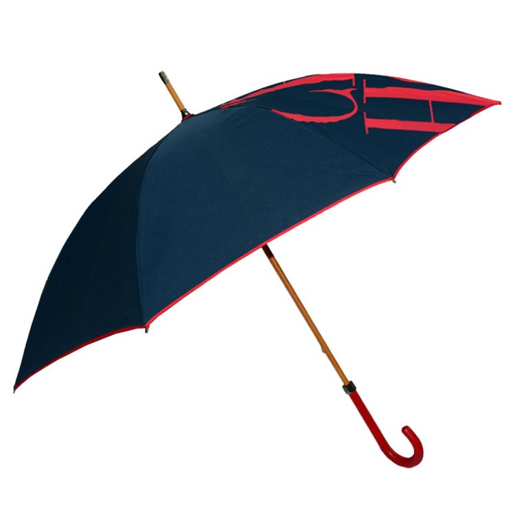 27inch manual open full fiberglass golf umbrella with logo printing