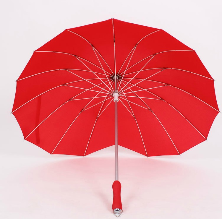 Wedding Heart Shape Umbrella
